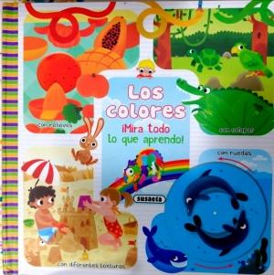Los colores de la editorial Susaeta