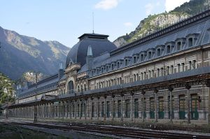 Estación de Canfranc. Wikipedia