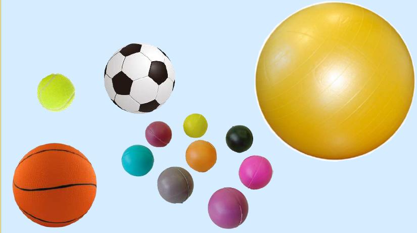 "Pelotas distintas para jugar a ""la pelota peruana"""
